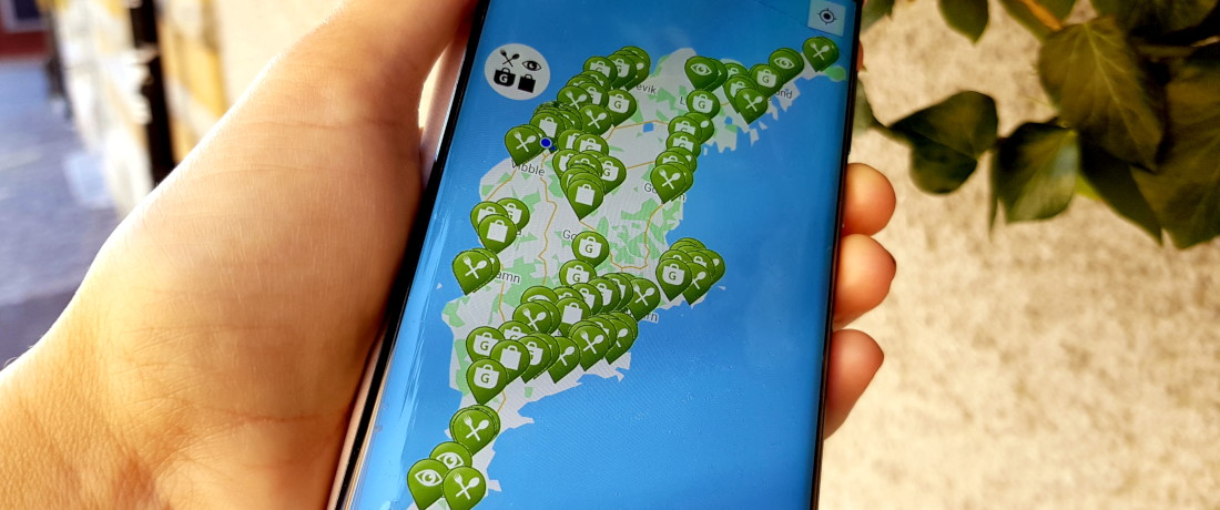 Öppet Gotland appen
